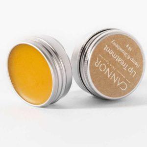 Kosmetika Cannor- přírodní vegan balzám na rty , konopná kosmetika s CBD