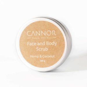 cannor.cz , přírodní konopná kosmetika, léčivá kosmetika s CBD,scrub, peeling
