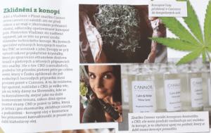 cannor.cz cannor konopna kosmetika, CBD Pravy domaci casopis